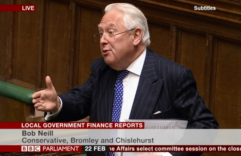Bob Neill Local Gov Finance Reports