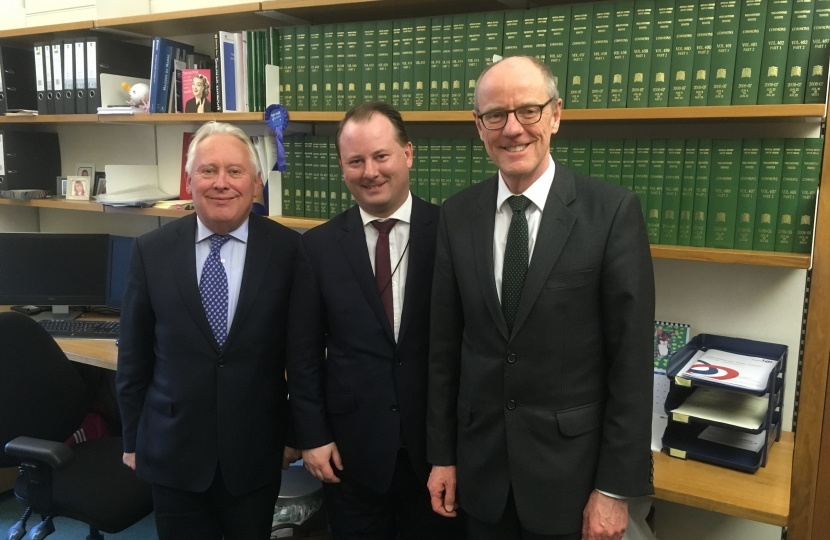 Bob Neill meets with Nick Gibb