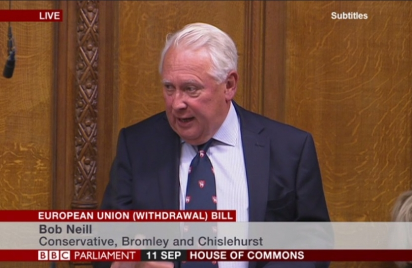 Bob Neill EU Withdrawal Bill